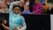 Simone Biles Stands With Survivors In Her Return To Gymnastics