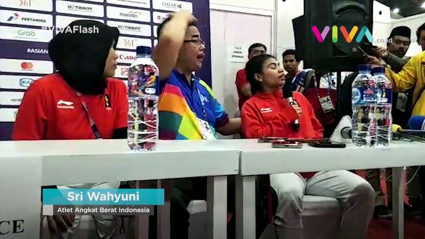 Sri Wahyuni Persembahkan Medali Perak Untuk Indonesia