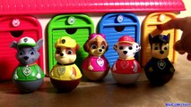 Tayo the Little Bus Garage of Paw Patrol Weebles Toys (꼬마버스 타요) (퍼피 구조대) Learn Colors 유튜브