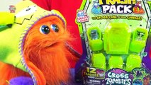 The Trash Pack Gross Zombies Collection Halloween Toy Review [Moose Toys]