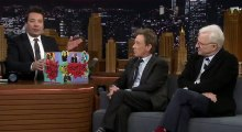 Tonight Show Starring Jimmy Fallon S05  E121 Steve Martin, Martin Short, Poppy Delevingne, Steep Canyon Rangers