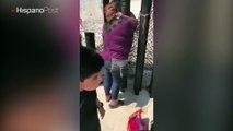 Tras más de una década sin verse, unas hermanas se abrazaron una reja fronteriza