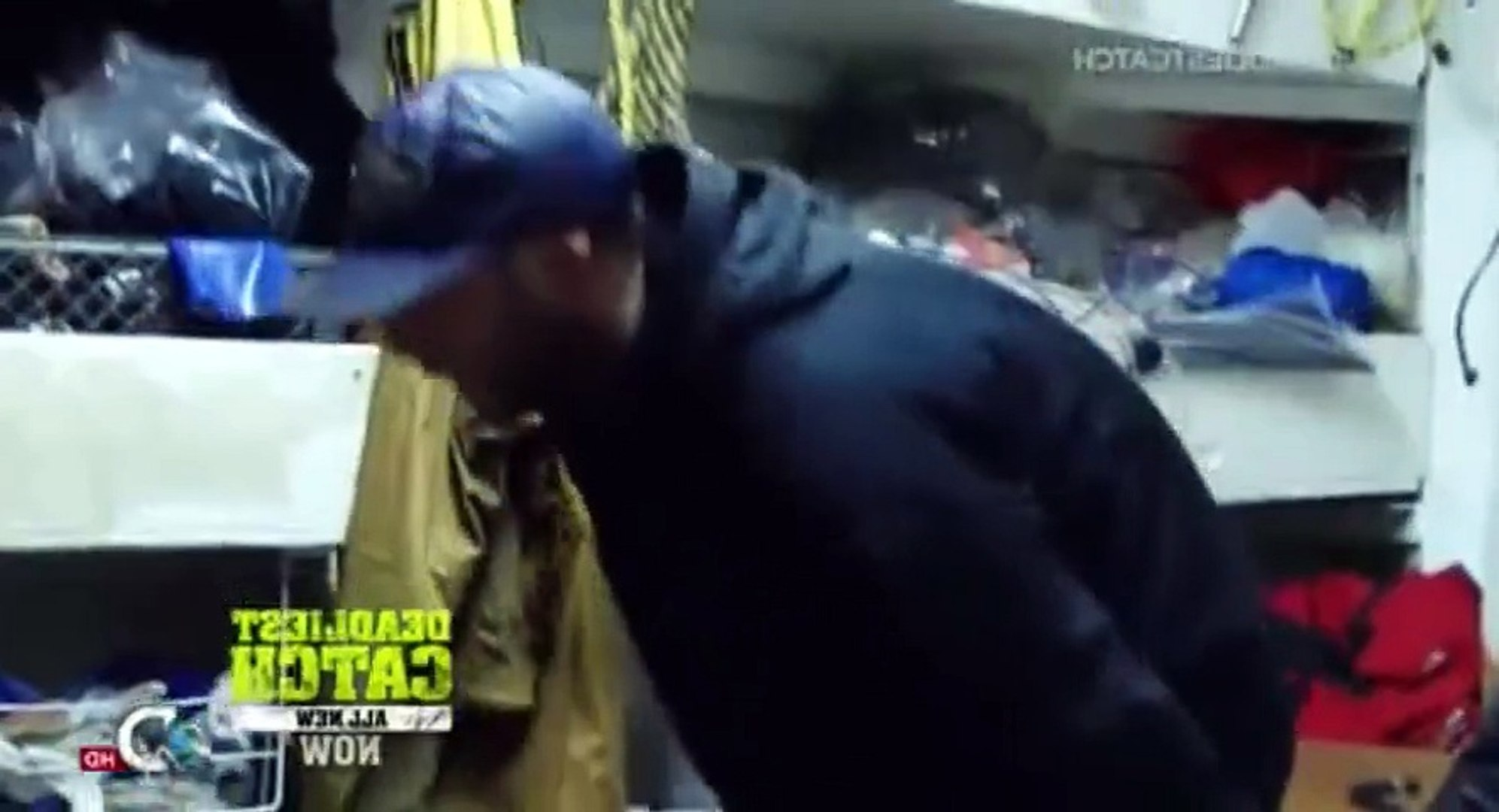 Deadliest Catch Crab Fishing in Alaska S09  E03 Blood in the Morning - Part 01
