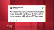 Fans of @LilTunechi were a lil upset that he cancelled his performance at #NYC's #Panorama festival! He says it was because of the weather, but #PageSixTV's got the scoop on the real reason why he called things off!