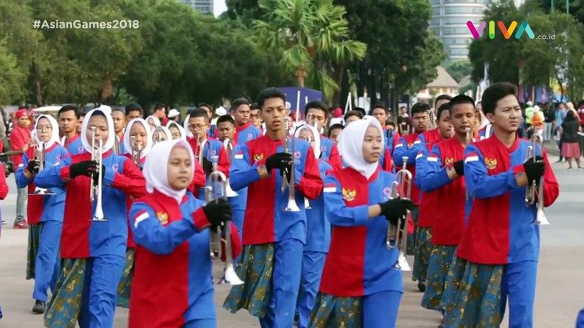 Yang Bikin Merinding di Opening Ceremony Asian Games 2018