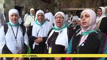 Arabie Saoudite - Hadj : les pèlerins prient sur le mont Arafat