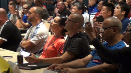 AIBA YWCHs2018 - Technical Meeting and Official Draw