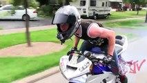 INSANE Street Bike Stunts CRAZY Highway WHEELIE + DRIFT Motorcycle TRICKS Riders Are Famil