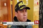 Cusco: policía interviene a integrantes de una mafia de exámenes de admisión