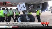 ঢাকায় এসে পৌঁছালো পৃথিবীর সর্বাধুনিক বিমান বোয়িং ৭৮৭ ড্রিমলাইনার | Boeing 787 Dreamliner aircraft - AnyNews24