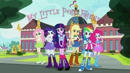 MLP: Equestria Girls My Little Pony Friends Music Video