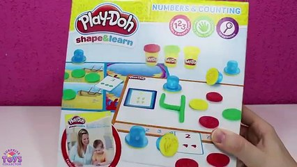 Learn Colors And Numbers Play Doh Shape & Learn ◕ ‿ ◕ Play Doh Learning Videos For Kids