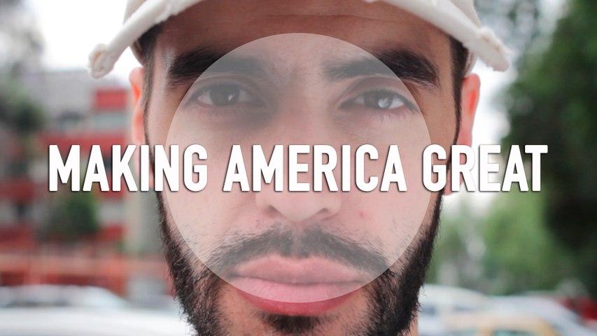 Making America Great - Shane Romero - Poem Video