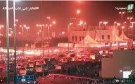 بث مباشر: ضيوف الرحمن ينفرون من #عرفات إلى #مزدلفة بعد قضاء ركن #الحج الأعظم