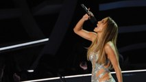 Jennifer Lopez Accepts Michael Jackson Video Vanguard Award