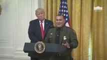 Donald Trump Introduces Hispanic Border Patrol Agent: 'Speaks Perfect English'