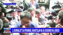 GLOBALITA: 2 journalist sa Myanmar, hahatulan na sa susunod na linggo; 5 patay sa panibagong lindol sa Indonesia; Pagkikita ng magkaka-anak na pinaghiwalay ng Korean war, naging emosyonal