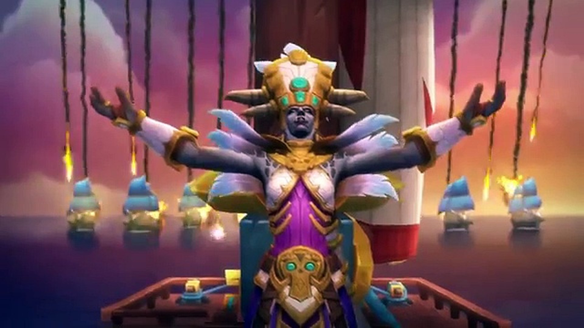 WORLD OF WARCRAFT Battle for Azeroth - Embers of War Trailer (2018)