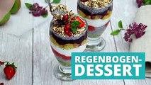 """Bunt, gesund und lecker: Dieses Dessert ist füllend und benutzt das """"Superfood"""" Chia. Man bleibt den ganzen Tag satt, ohne zu viele Kalorien zu sich zu nehmen"""