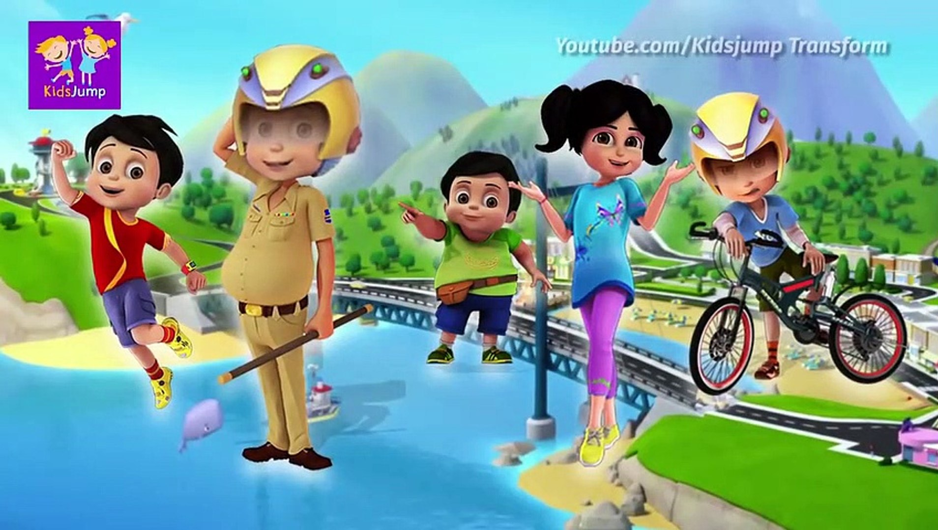 Shiva Cartoon VS VIR THE ROBOT BOY #07 Full Episode TV Movie Cartoon For Kids ANTV , Tv hd 2019 cine