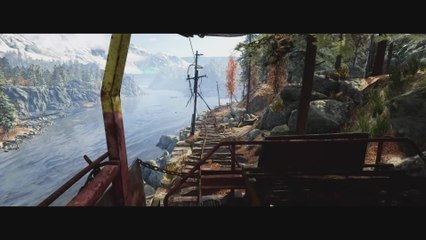 Trailer - Metro Exodus - Exploration sur un chariot en terres dévastées