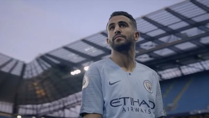 Nike : Très beau reportage sur Riyad Mahrez