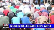 NEWS: Muslims celebrate Eid'l Adha