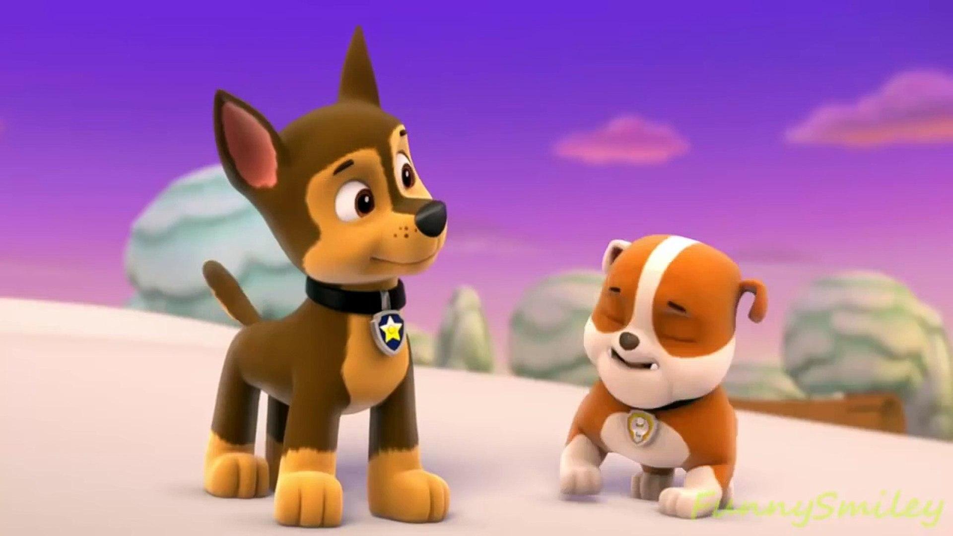 Pups Save Christmas.Paw Patrol English Pups Save Christmas Part 5 Brief E
