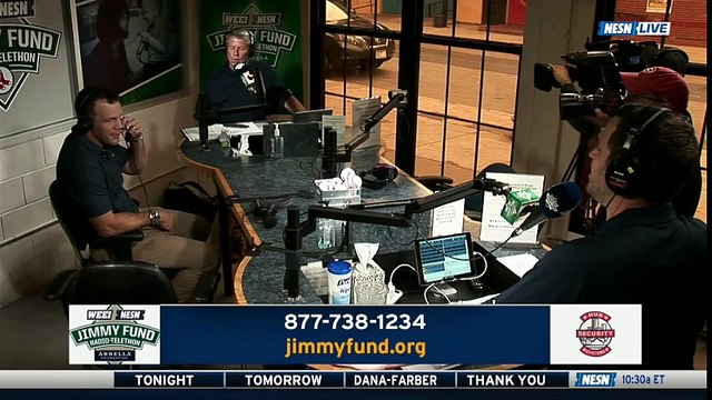 Shawn Thornton & Bruce Cassidy join the 2018 WEEI/NESN Jimmy Fund Radio Telethon