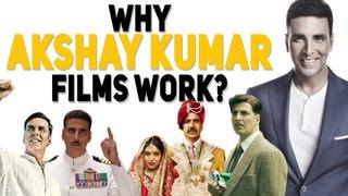 Why Akshay Kumar Films Work? | Gold | Padman | 2Point0 | Houseful | Airlift | Rustom |