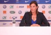 France-Mexique Féminine  : la conférence de presse de Corinne Diacre
