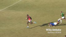 Rugby Africa Gold Cup top five tries