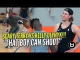 """He Can Shoot That Thing!"" KELLY OLYNYK VS TERRY ROZIER!"