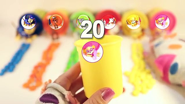 Counting to 10 with Paw Patrol! Watch the Paw Patrol Candy Counting Number Challenge!