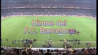 Gisela Himno Del Barcelona (Camp Nou)