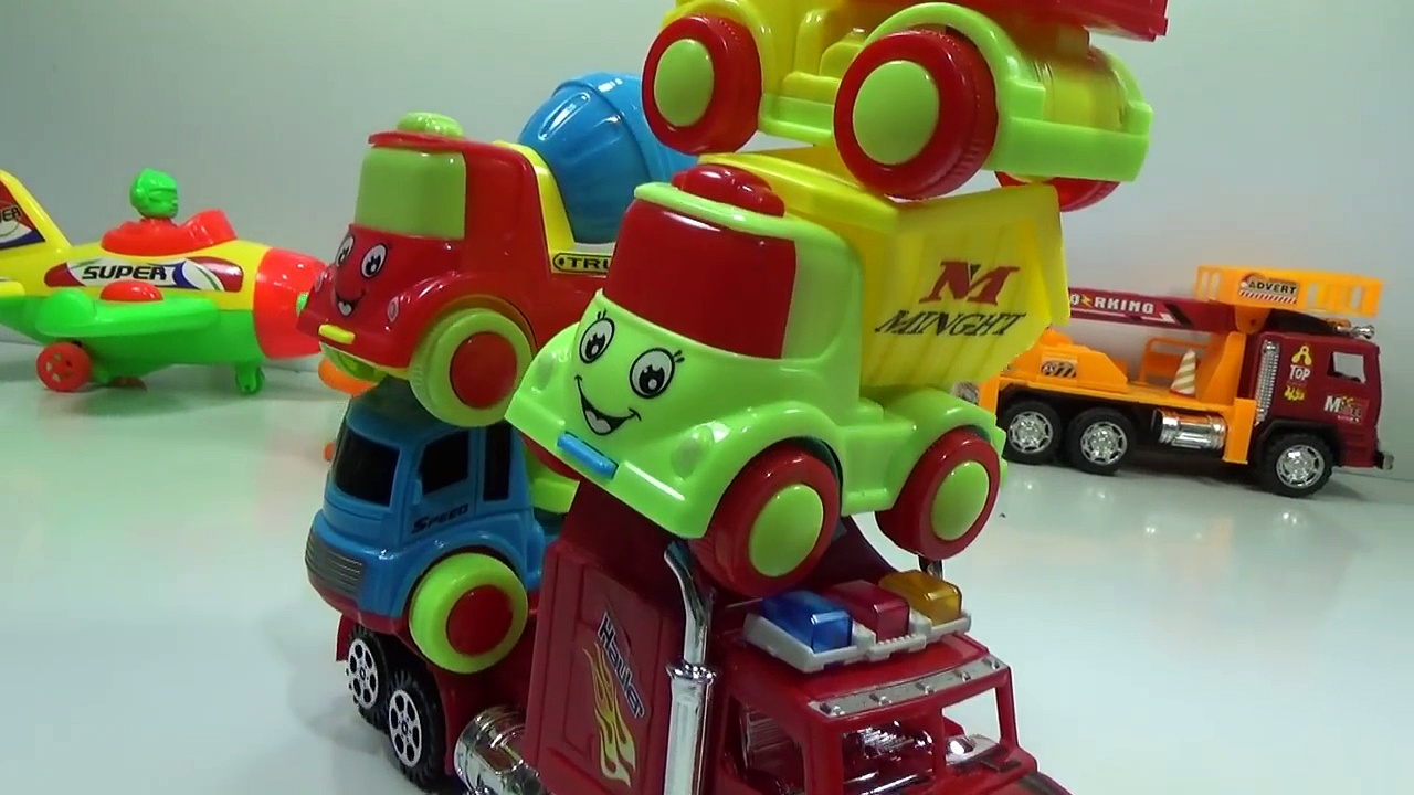 Baby Studio Super mother truck and small trucks   trucks toy