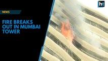 Watch: Fire breaks out in Mumbai building, 14 fire tenders on spot