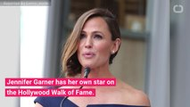 Jennifer Garner Receives Hollywood Walk of Fame Star