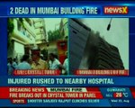 Mumbai fire: 4 dead and 14 injured as Crystal tower in Vile Parle catches fire