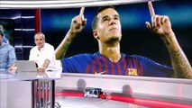 the gesture of coutinho with messi that shows that he is a heavyweight of barceona the gesture of coutinho with messi that shows that he is a heavyweight of barceona