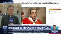 """Affaire Barbarin: """"On ne peut pas accuser quelqu'un avant que la justice soit faite"""", réagit un évêque du diocèse de Lyon"""