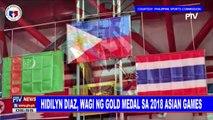 SPORTS BALITA: Hidilyn Diaz, wagi ng gold medal sa 2018 Asian Games