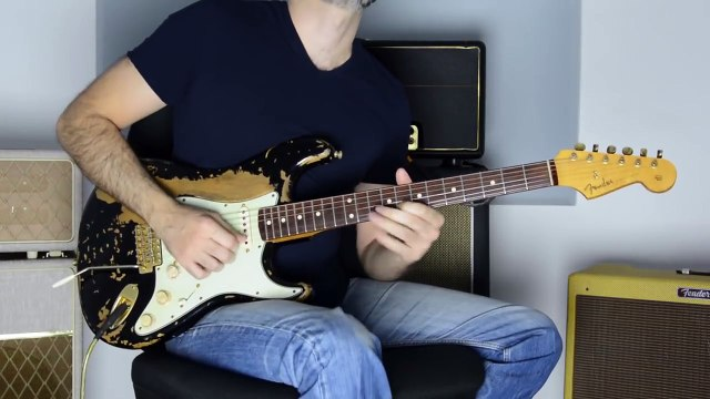 LP Lost On You Electric Guitar Cover by Kfir Ochaion