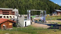 Les préparatifs de la Coupe du monde de VTT de la Bresse