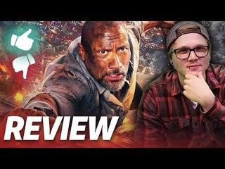 SKYSCRAPER   Kritik & Review   The Rock   2018