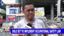 DOLE set to implement occupational safety law