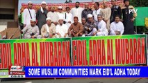 Some Muslim communities mark Eid'l Adha today