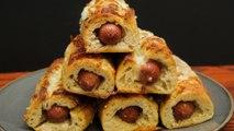 Garlic Bread Hotdogs
