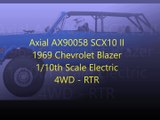 Axial AX90058 SCX10 II 1969 Chevrolet Blazer 1 10th Scale Electric 4WD - RTR