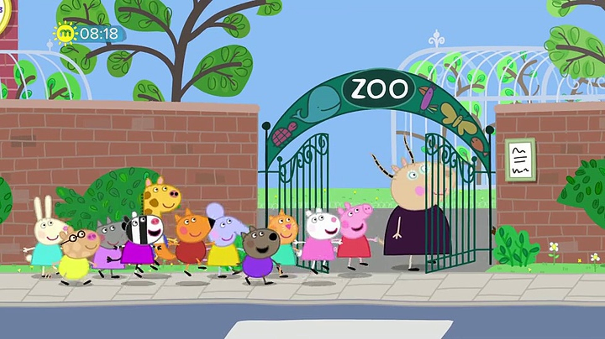Peppa Pig S05e17 The Zoo